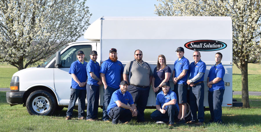 Small Solutions Duct Cleaning Services Team